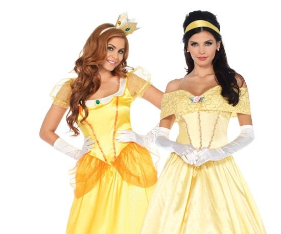 Belle en het Beest kostuum