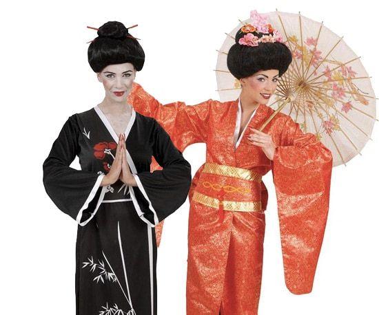 Geisha kostuum