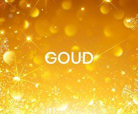 Gouden feestartikelen
