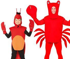 Krabben & Kreeften kostuums
