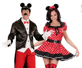 Mickey & Minnie mouse kostuums