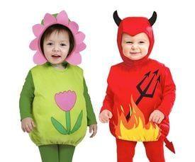 Opgevulde kinder kostuums