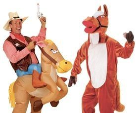 Paarden kostuum