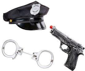 Politie accessoires carnaval