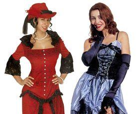 Saloon girl kostuum