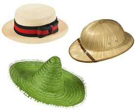 Stro hoeden