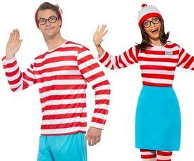 Waar is Wally kostuum