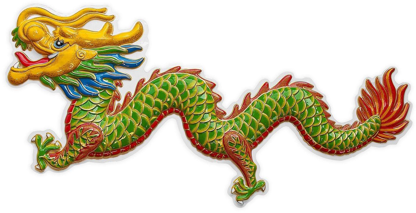 3D chinese draak versiering