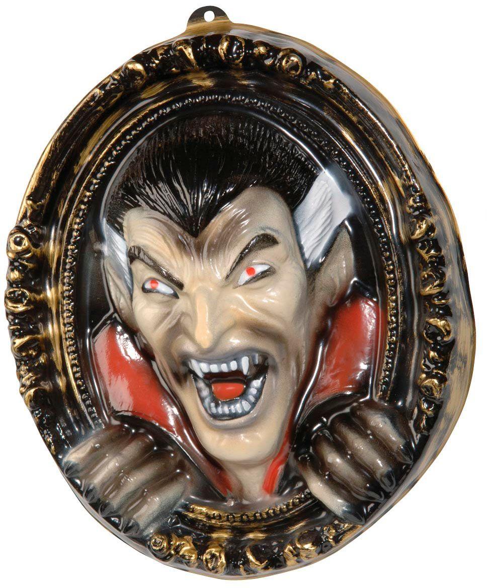 3D halloween vampier portret