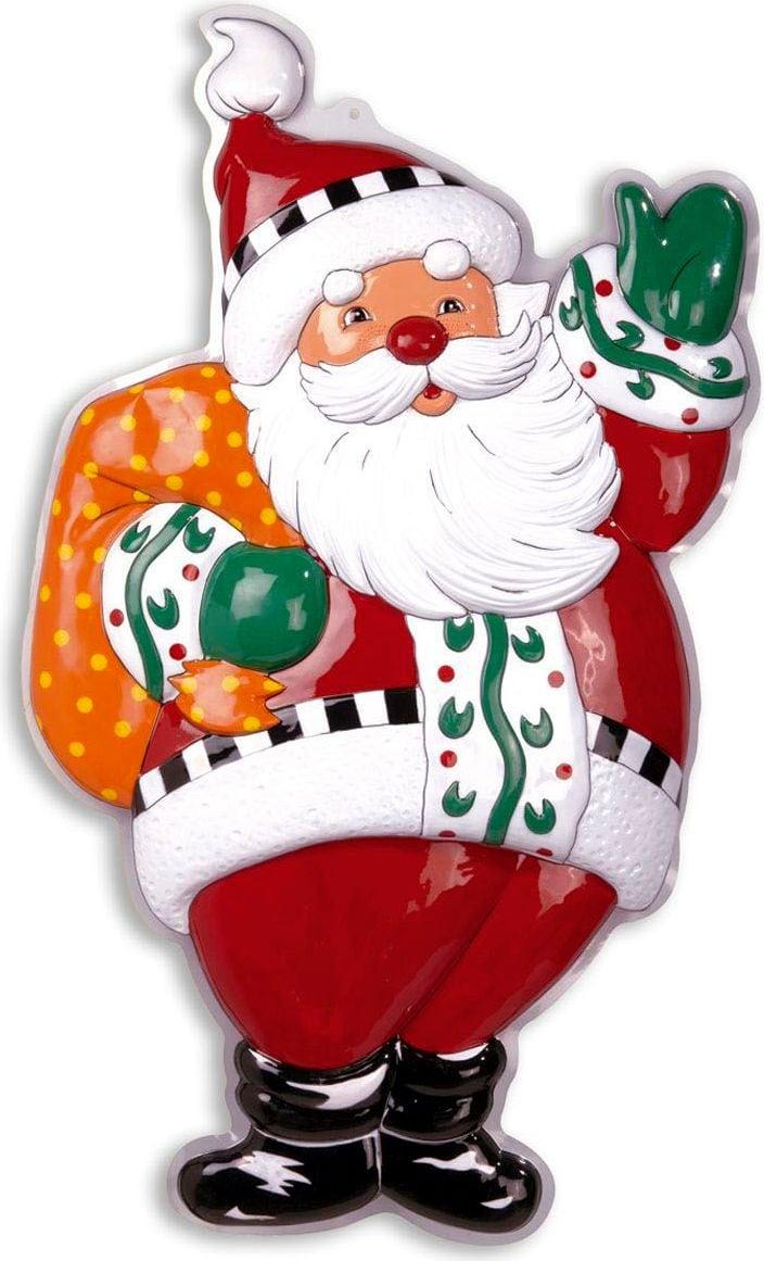 3D kerstman versiering