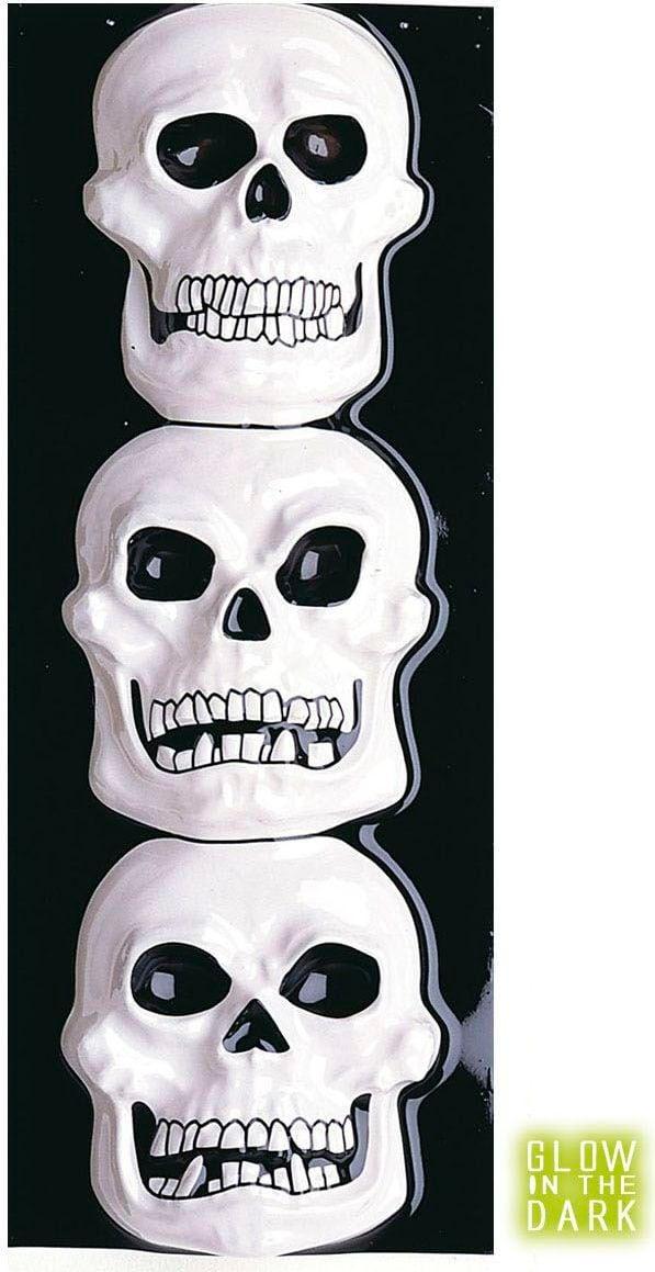 3D schedel versiering