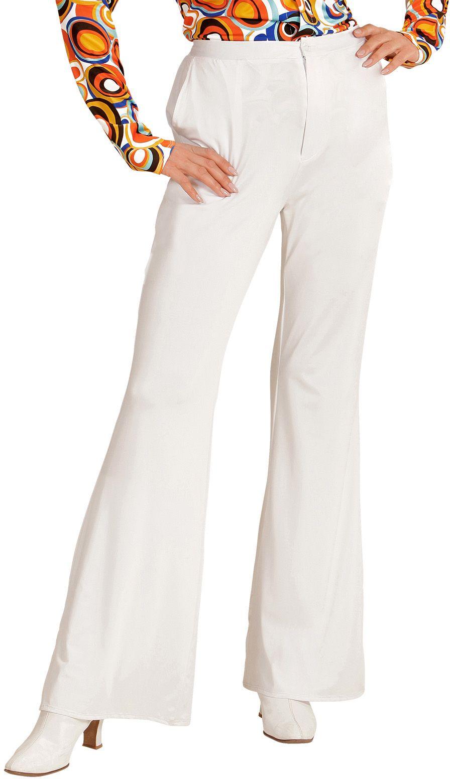 70s broek dames wit