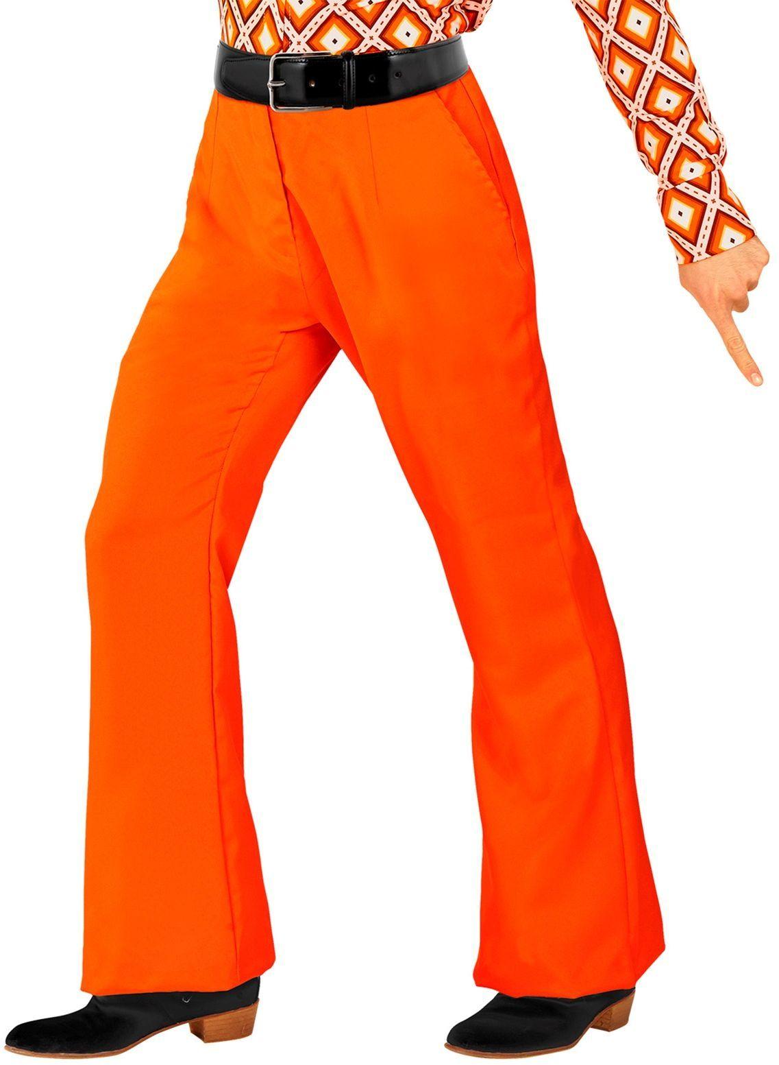 70s broek oranje