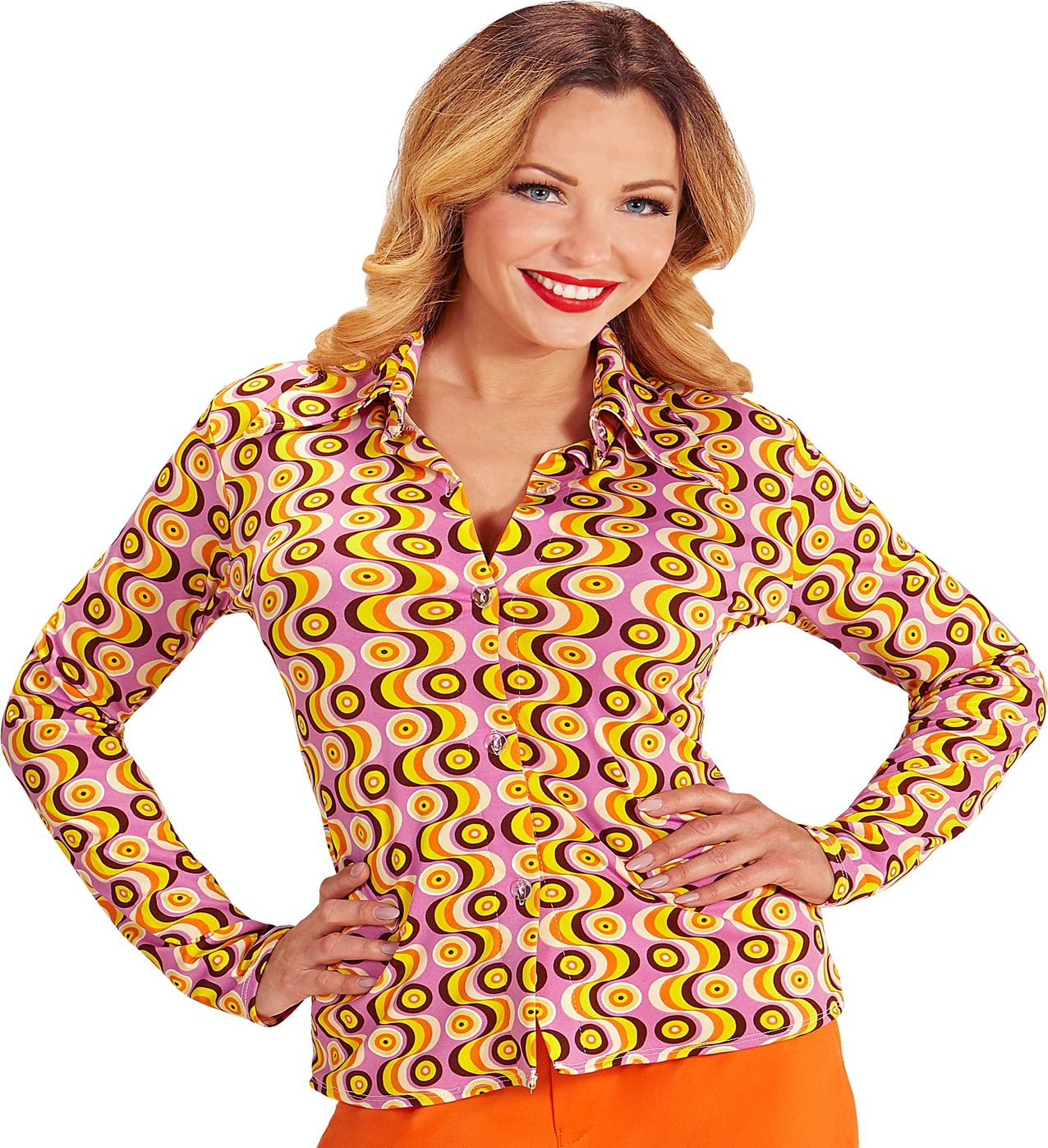 70s groovy dames shirt