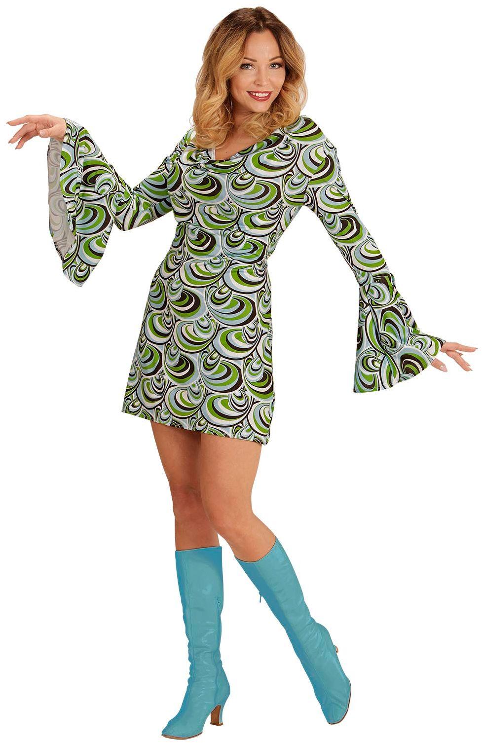 70s groovy jurk