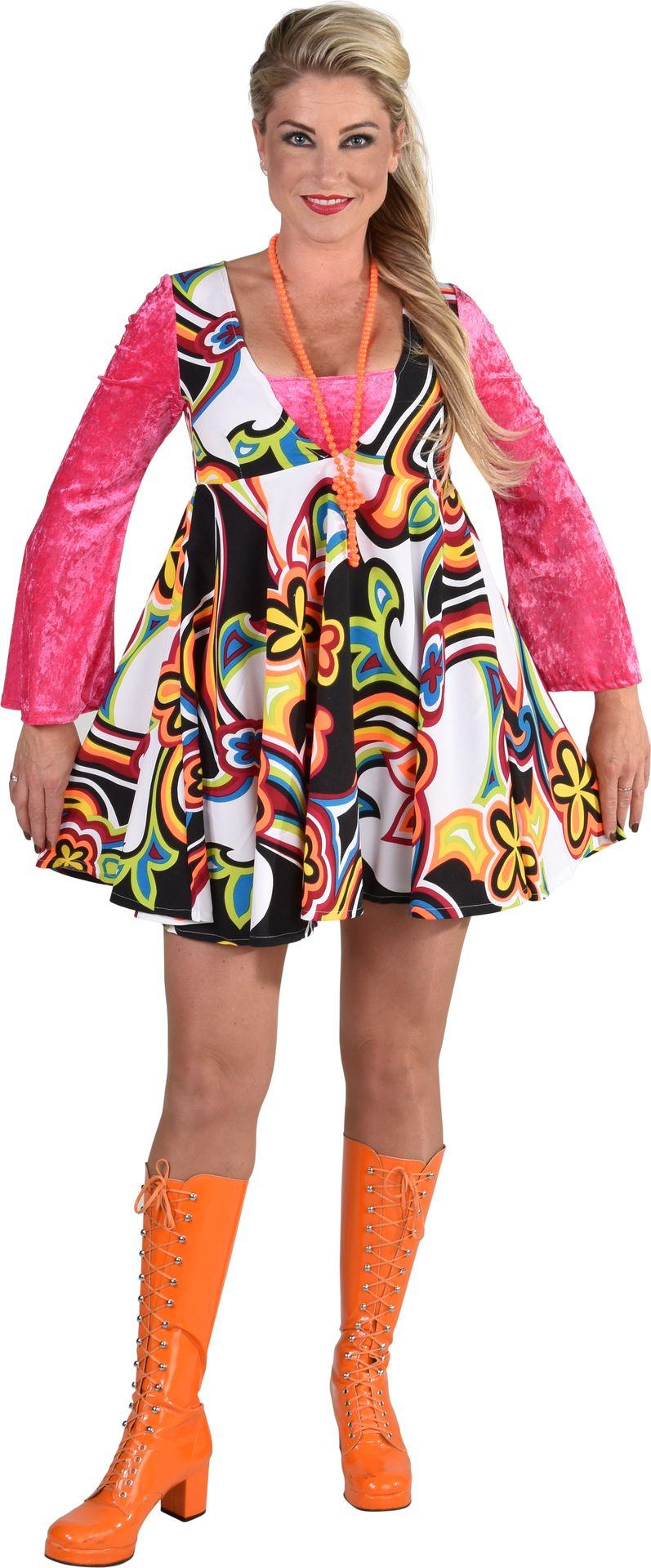 70s jurkje fantasie vrouwen