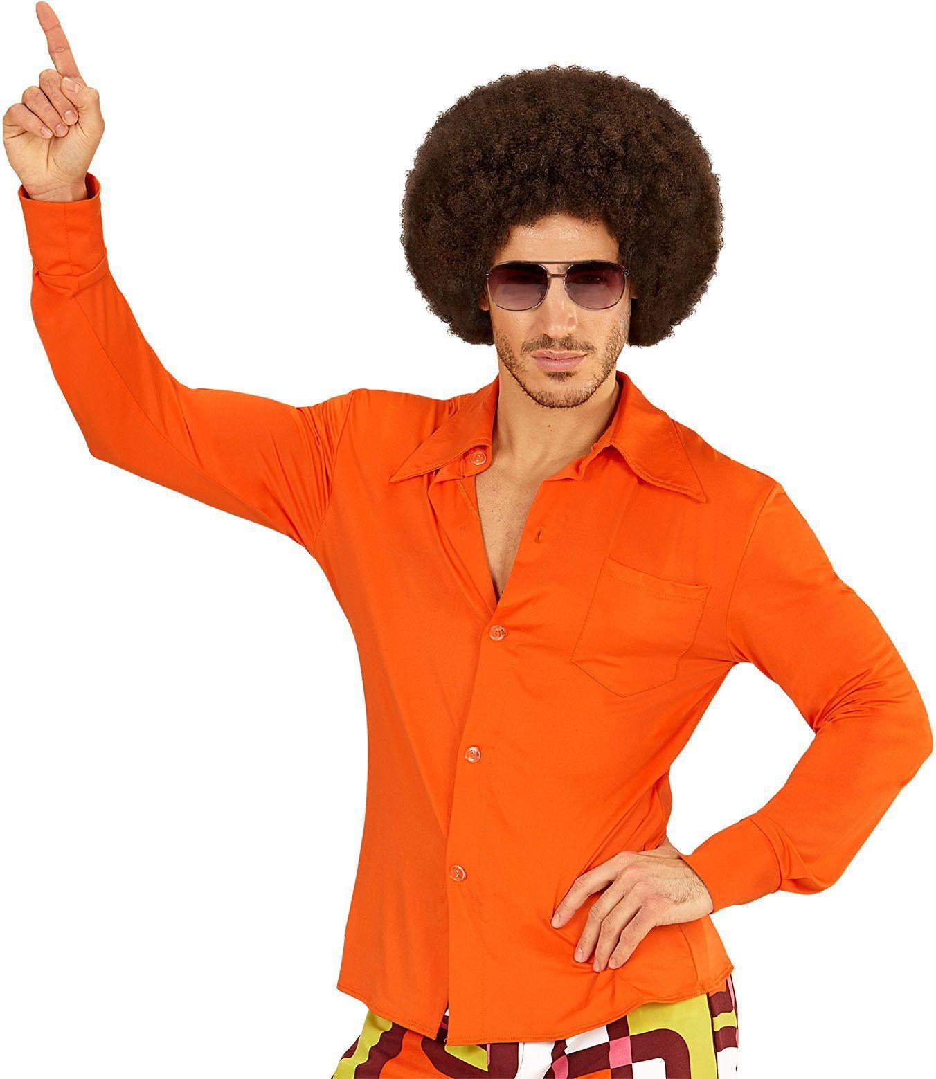 70s shirt oranje