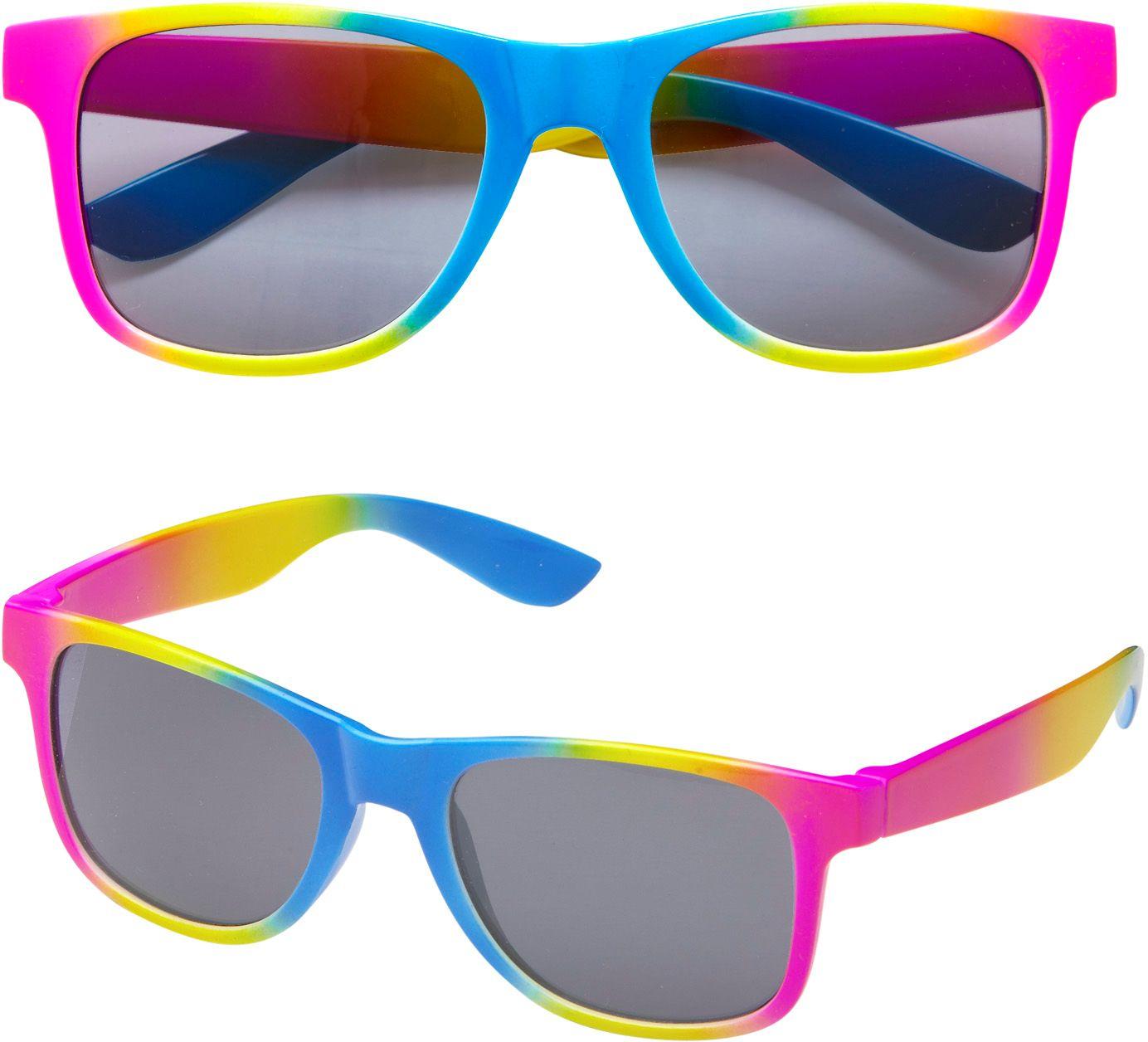 80s neon bril
