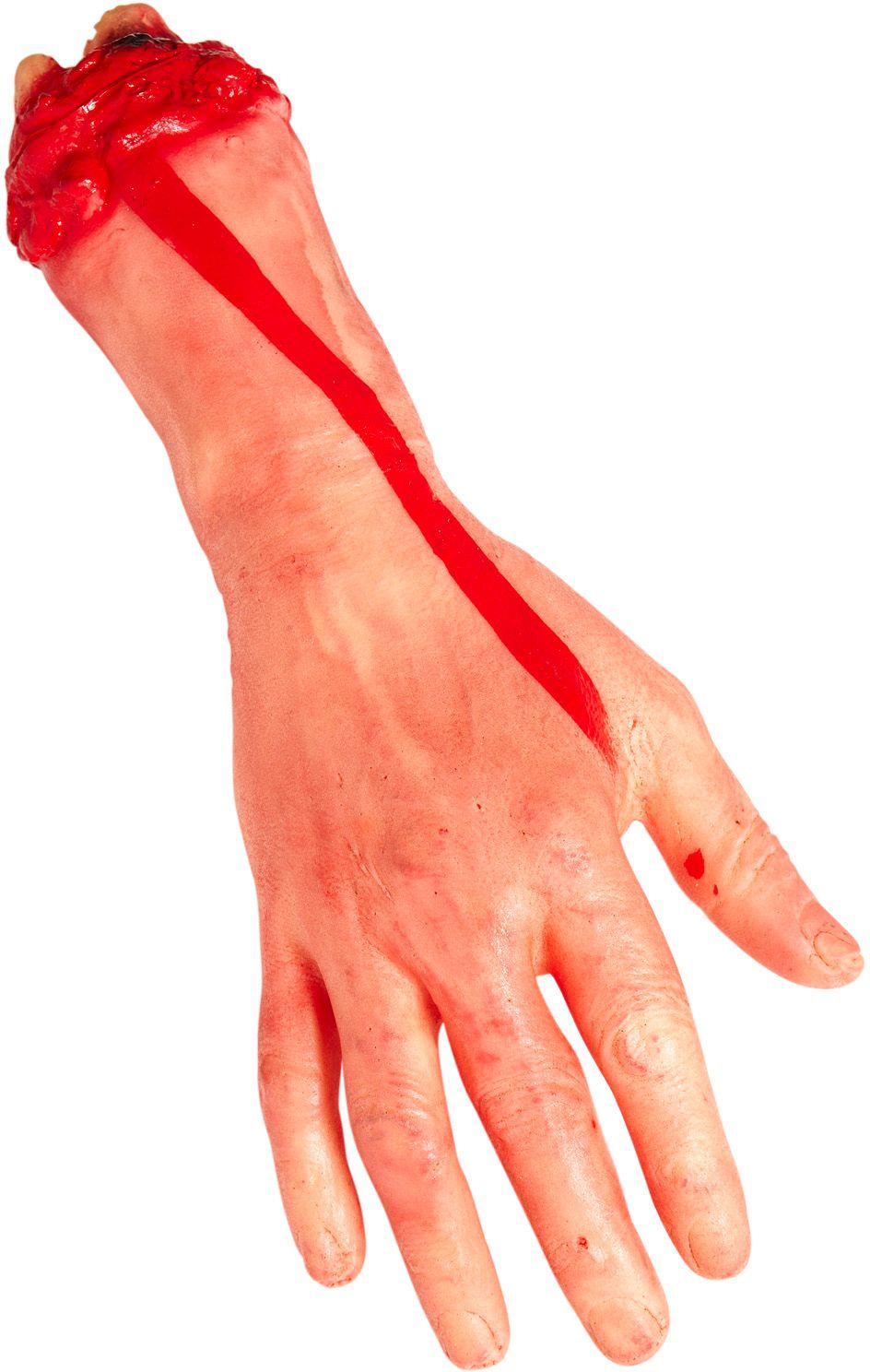 Afgesneden hand