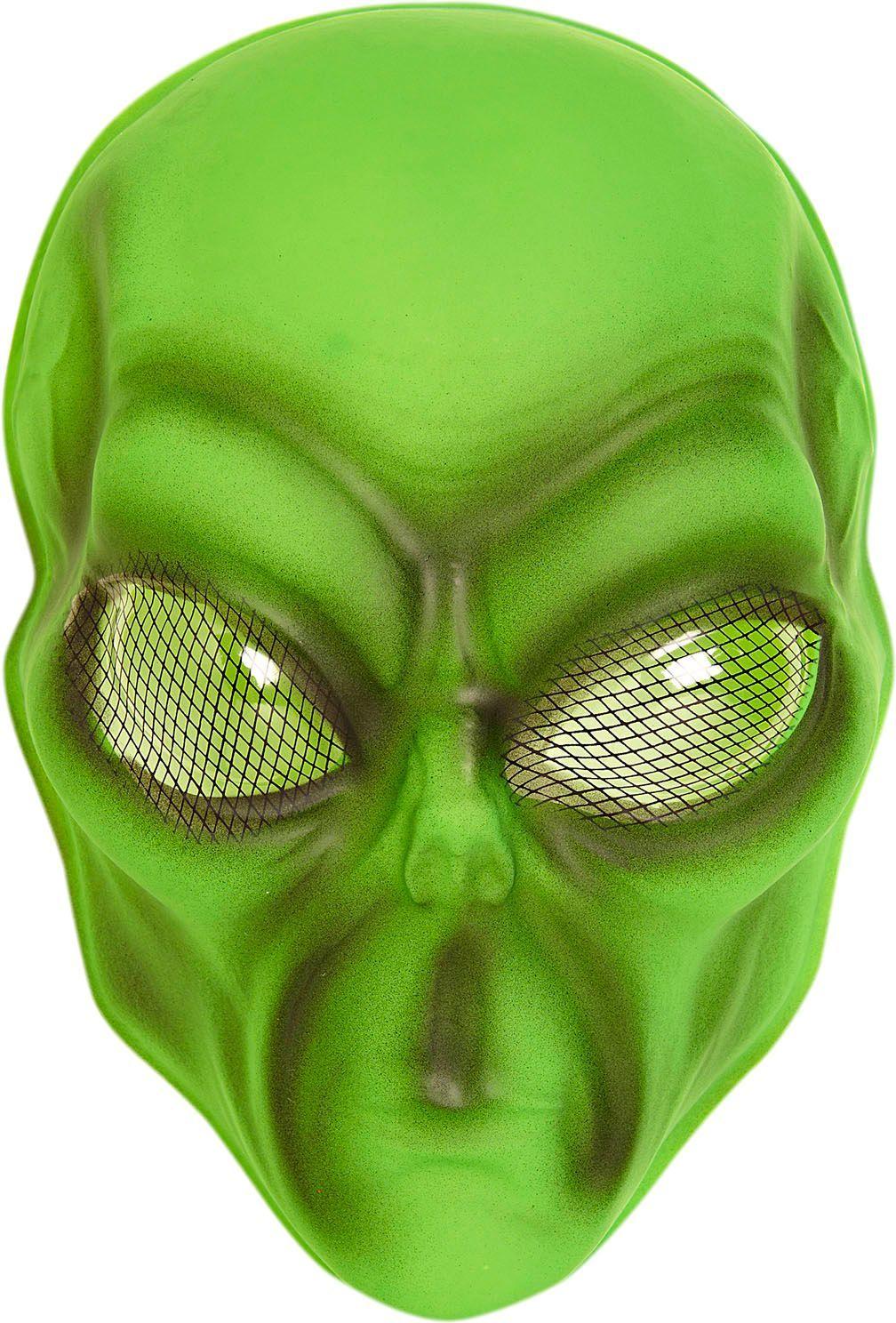 Alien masker groen