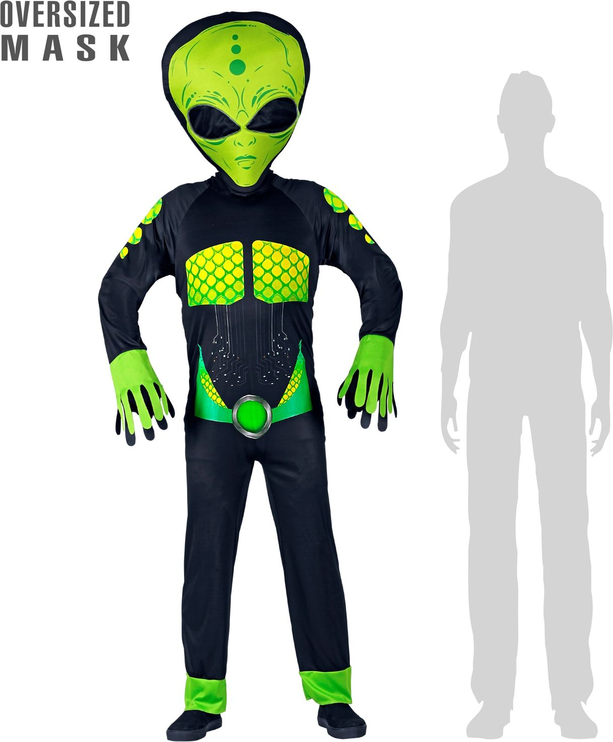 Alien pak volwassenen