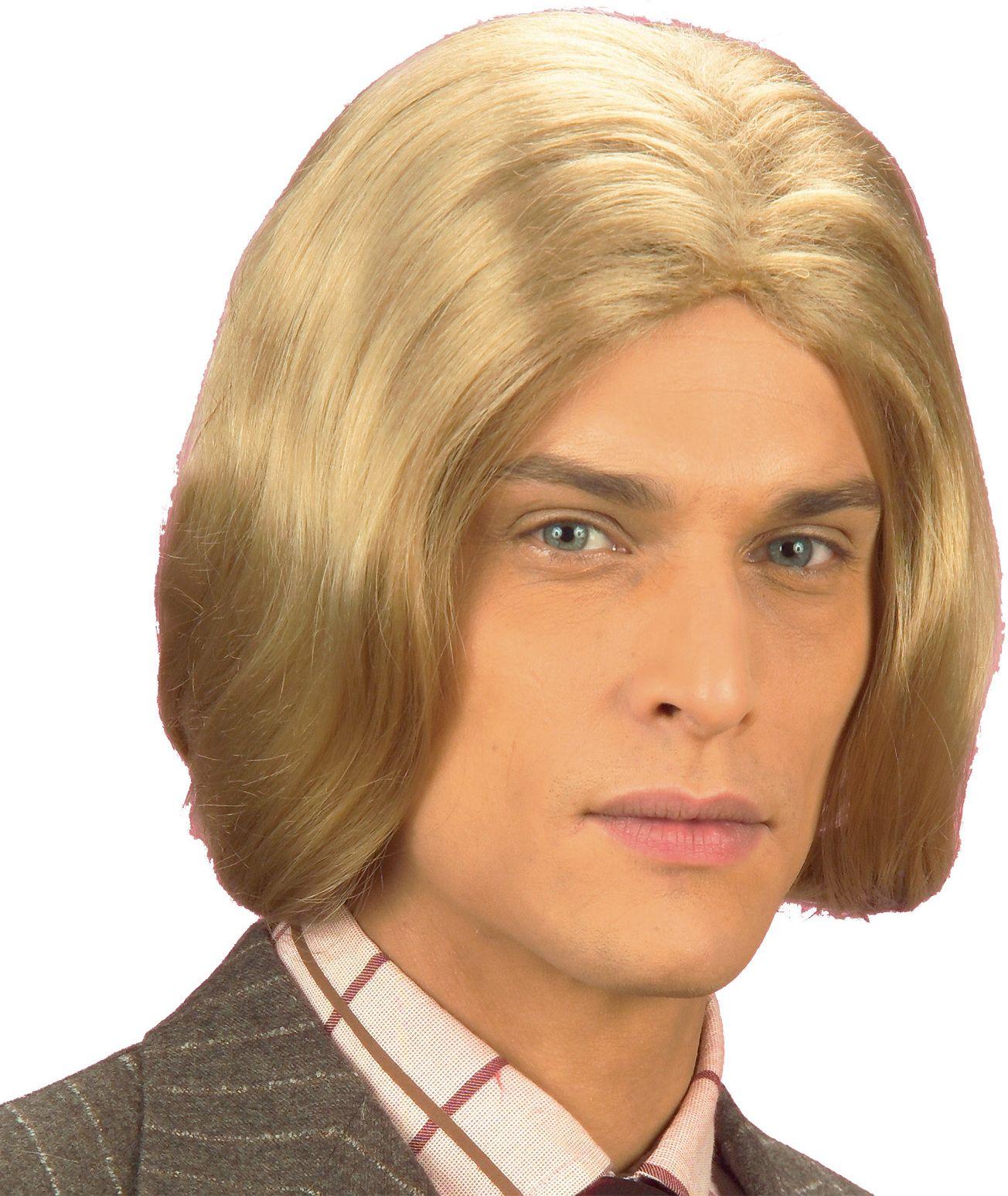 Amadeus pruik blond