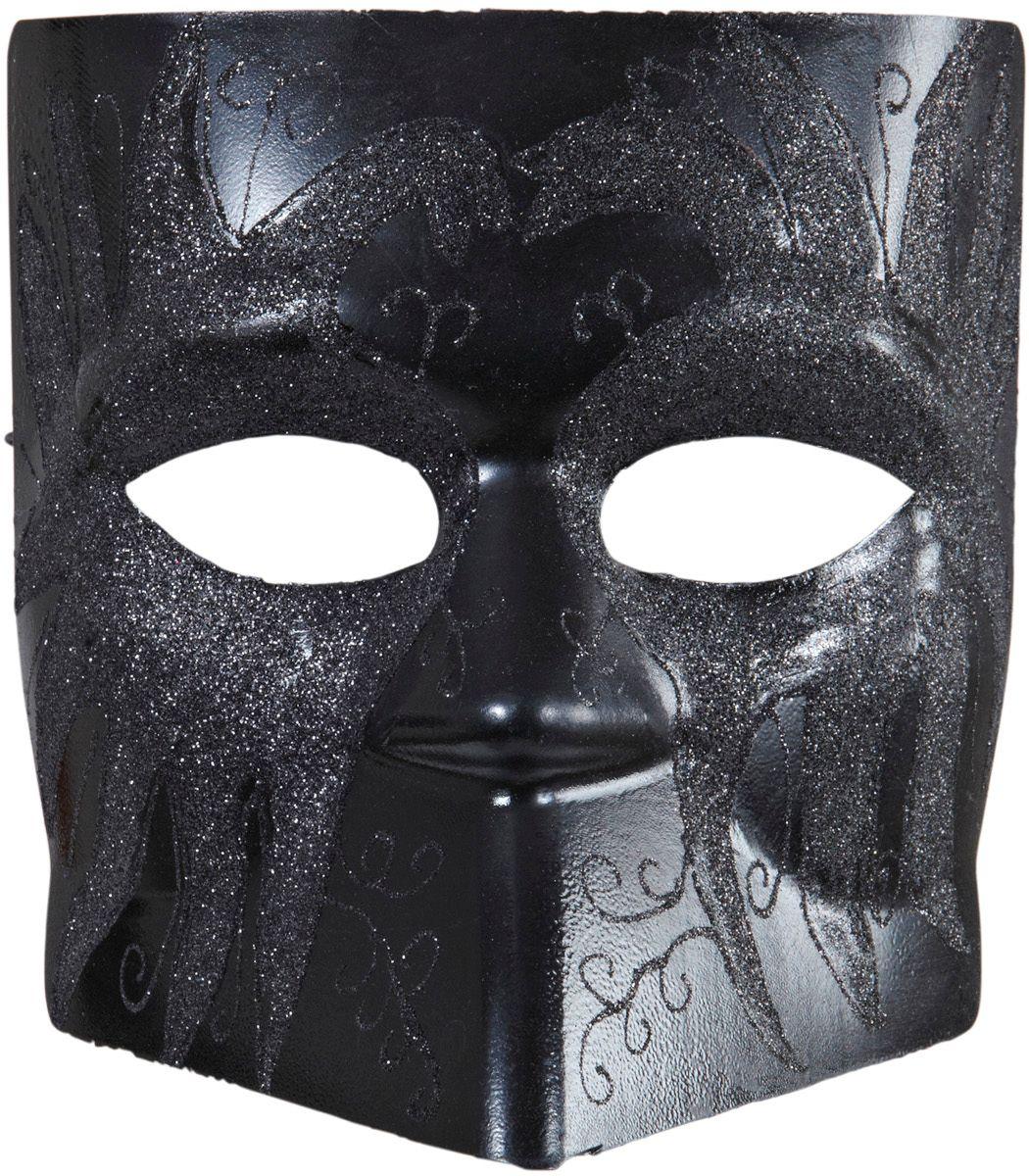 Anoniem masker zwart