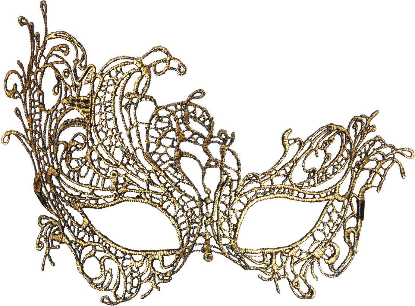 Antieken barok oogmasker goud