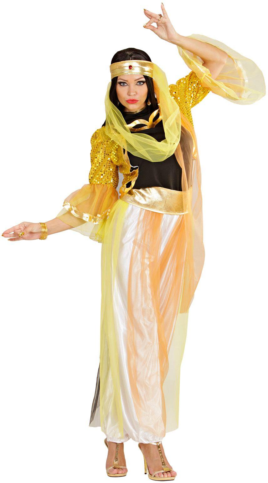 Arabische buikdanseres kostuum