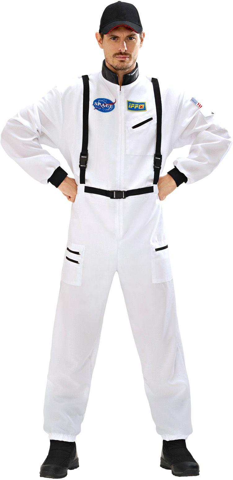Astronauten kleding wit