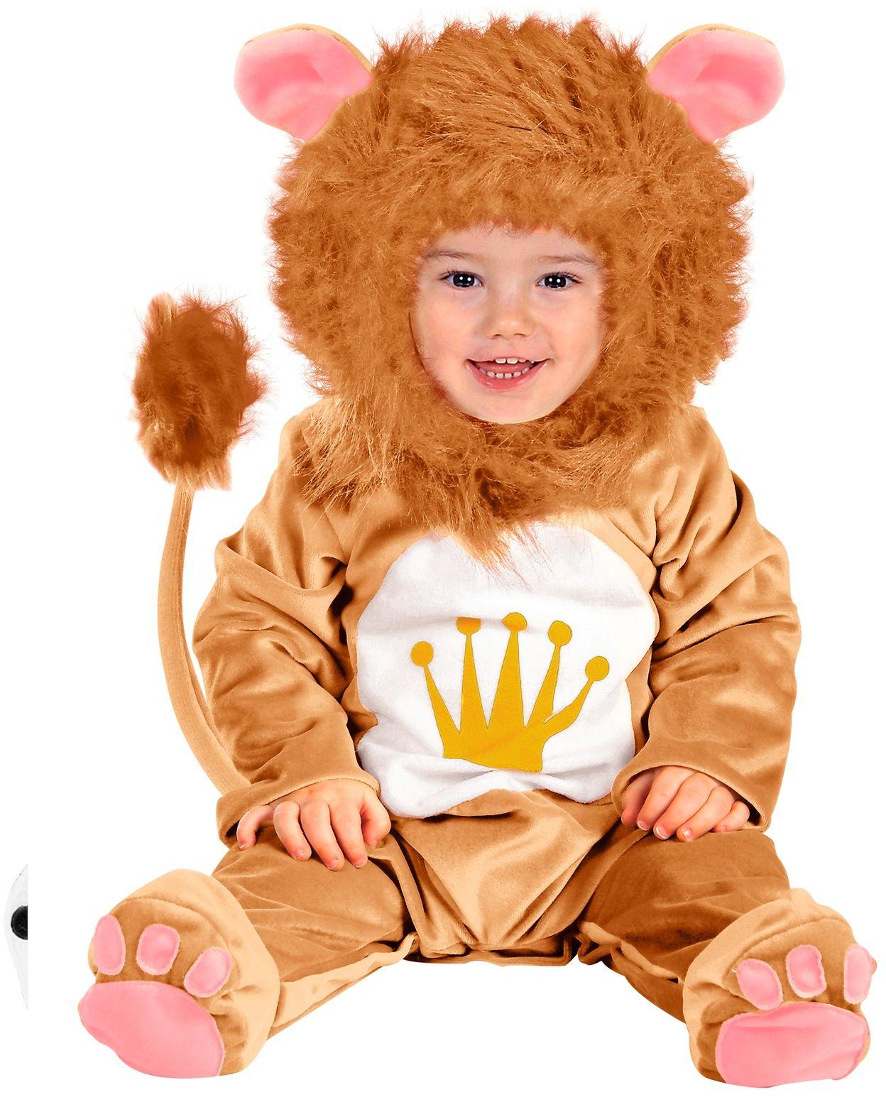 Baby leeuwen onesie