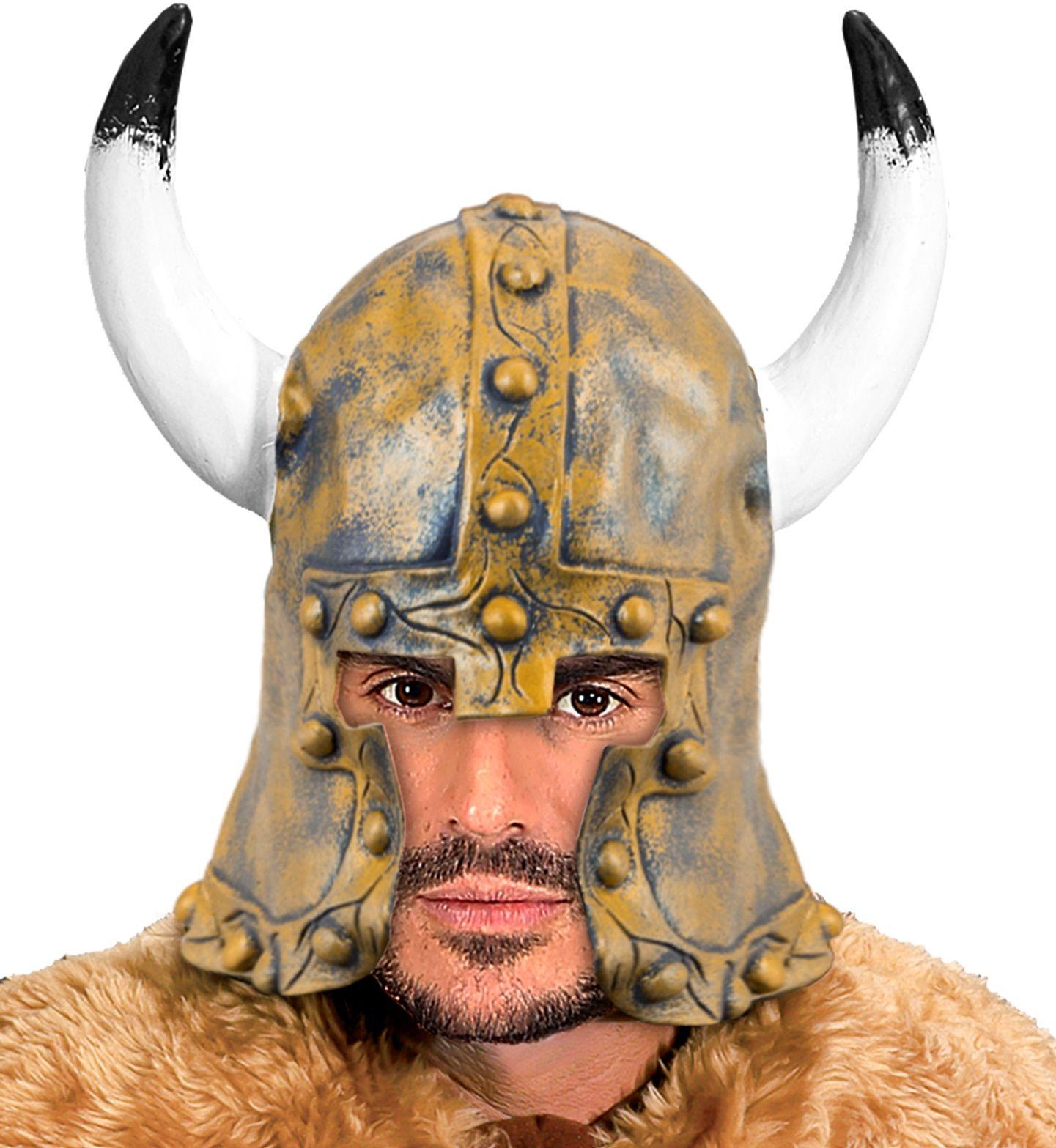 Barbaar helm brons