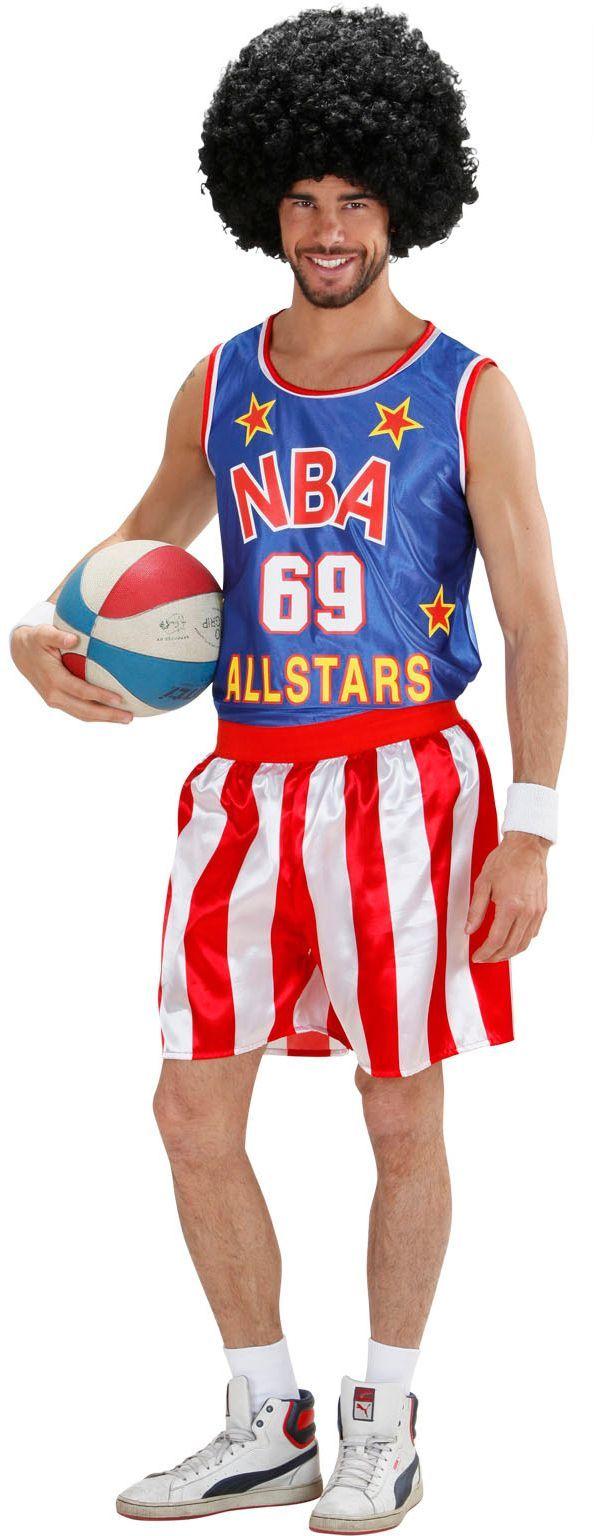 Basketbal kostuum heren
