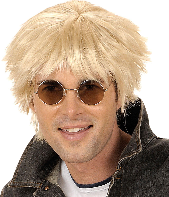 Beatles pruik blond