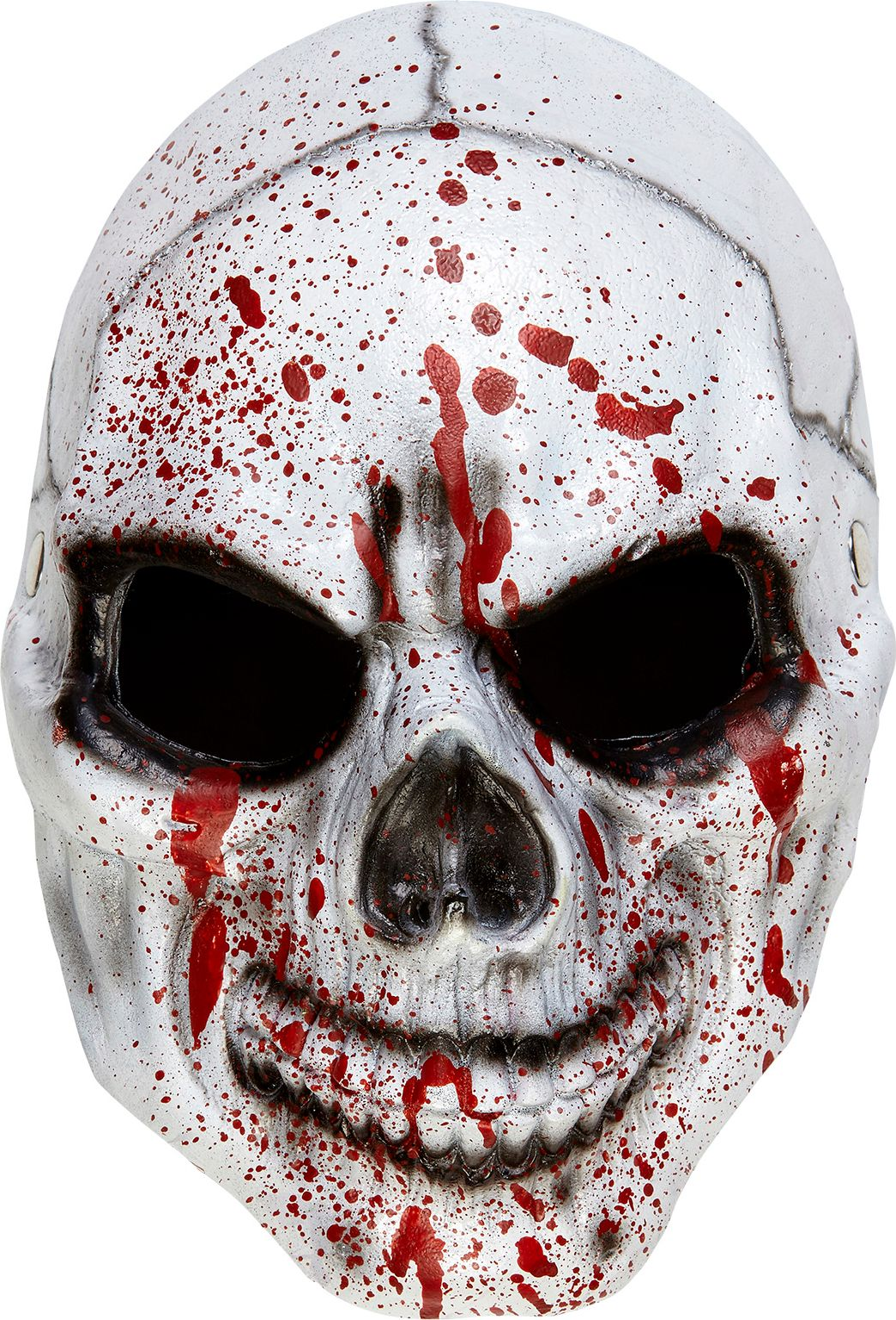 Bebloed schedel masker
