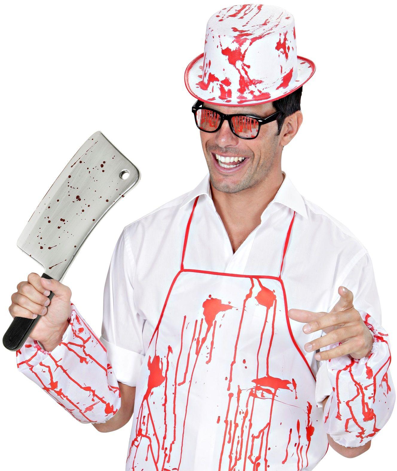Bebloed slagersmes