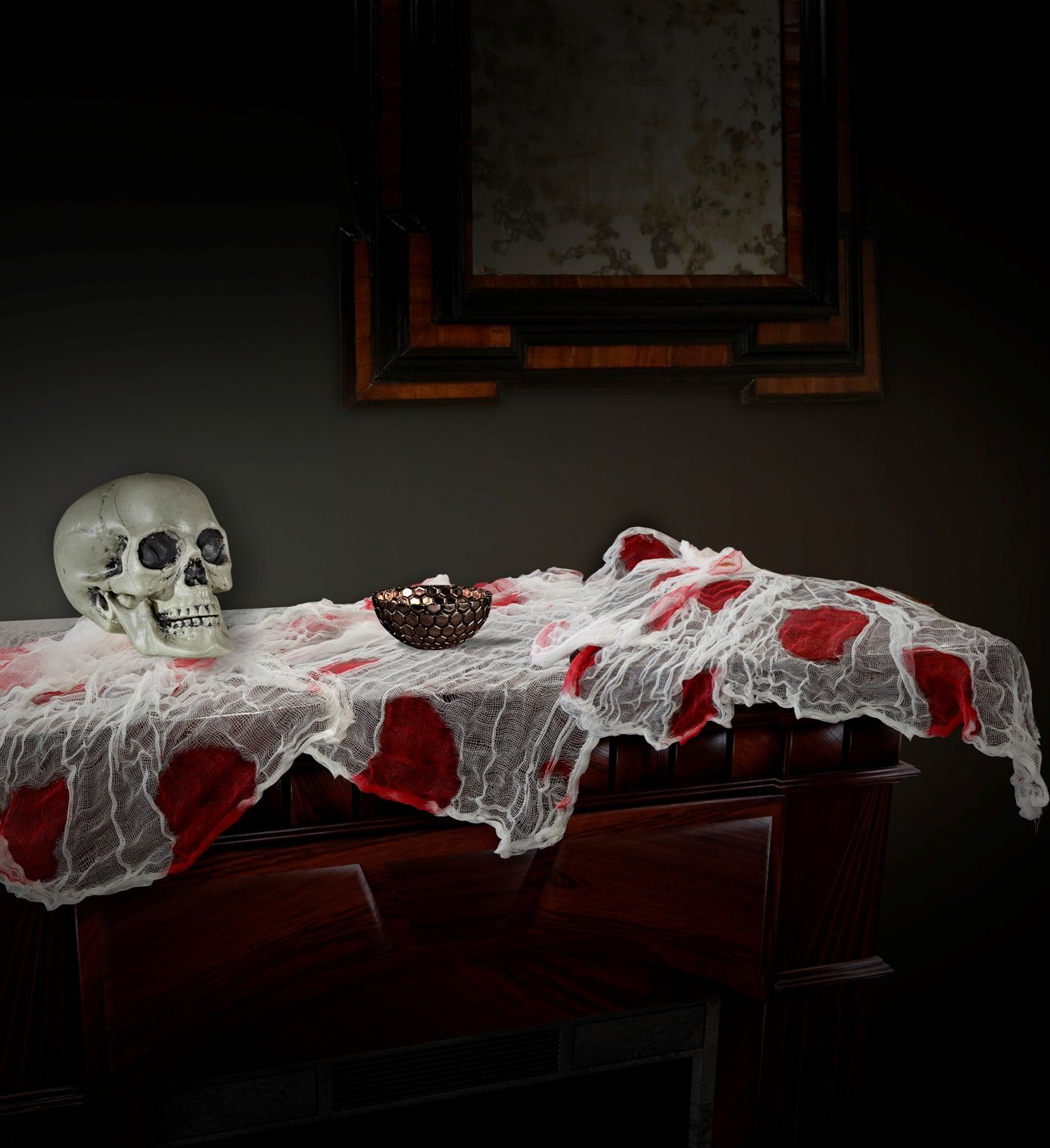 Bebloed tafelkleed