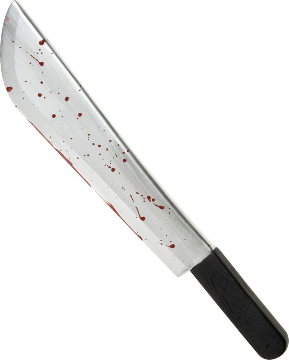 Bebloede horror machete