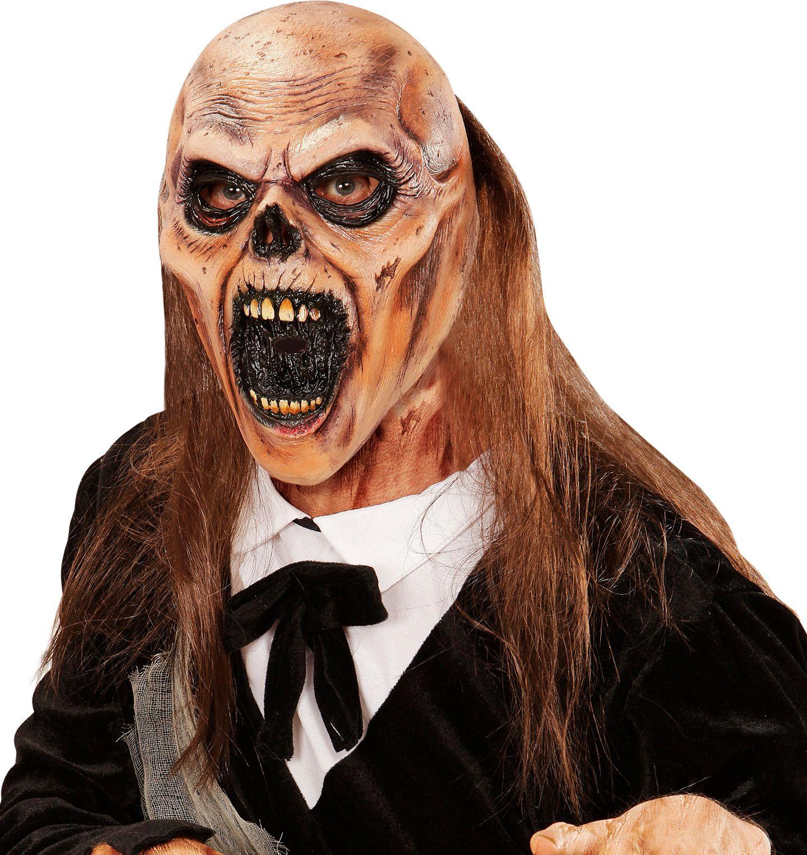 Begrafenis zombie masker
