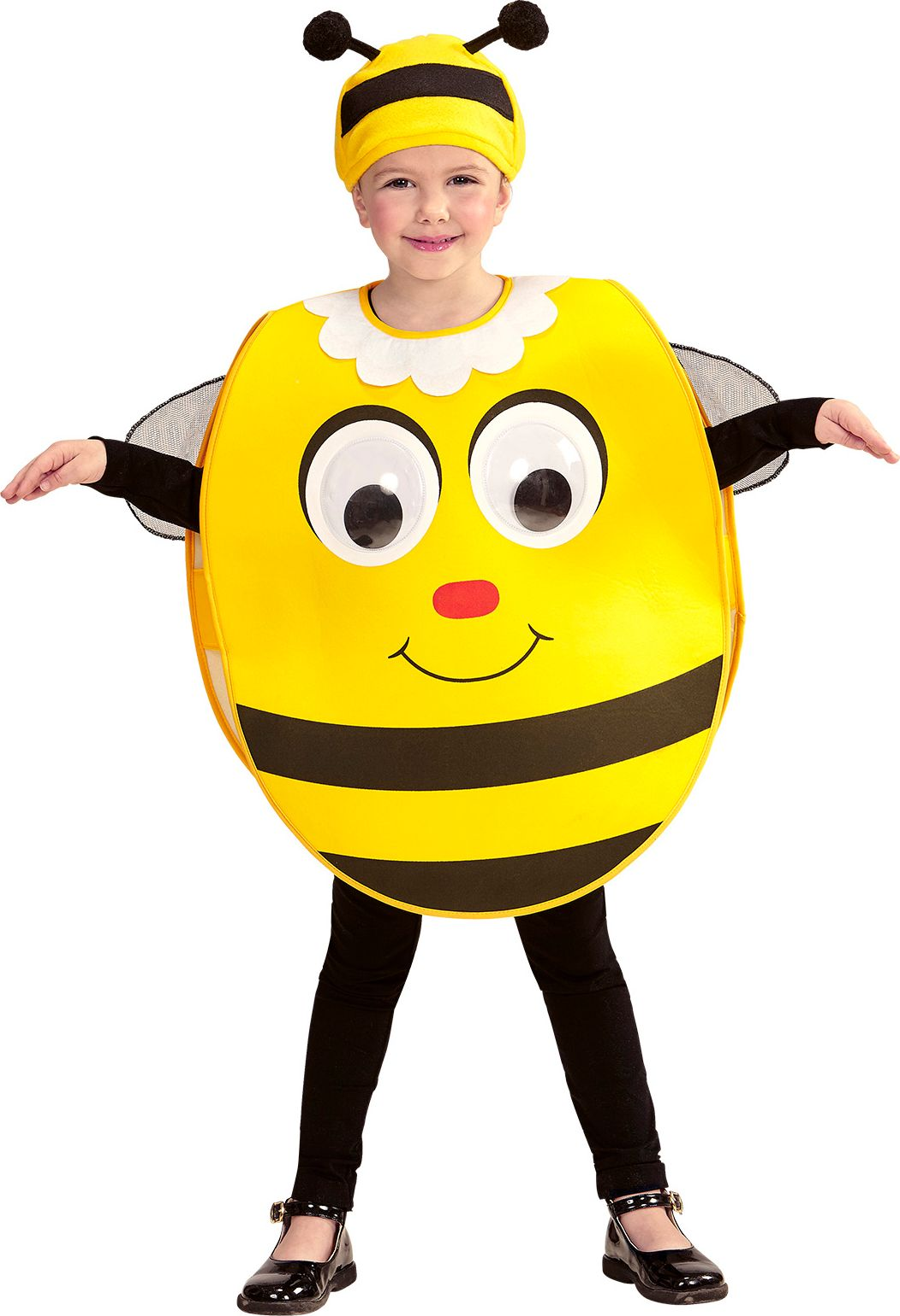 Bijen kostuum carnaval kind 2-4-years
