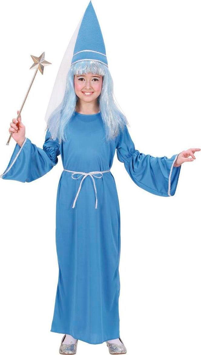 Blauw feeën kostuum