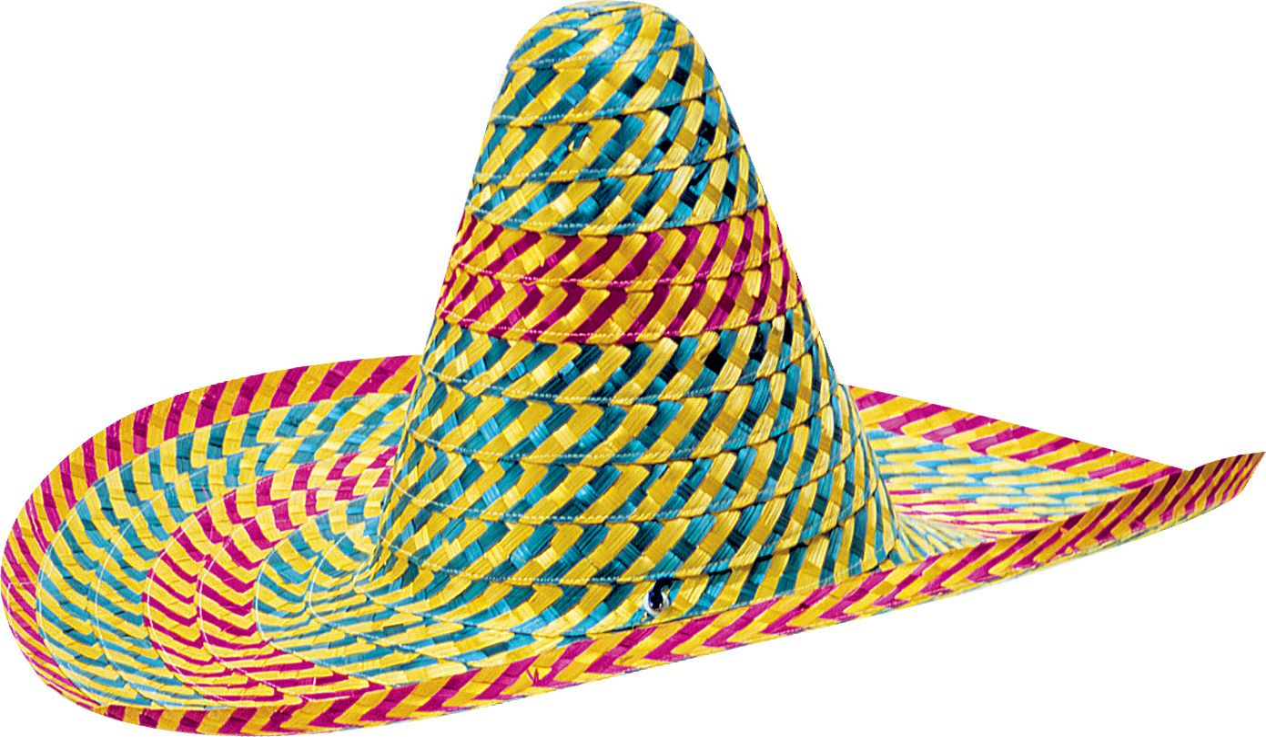 Blauw paarse mexicaanse sombrero