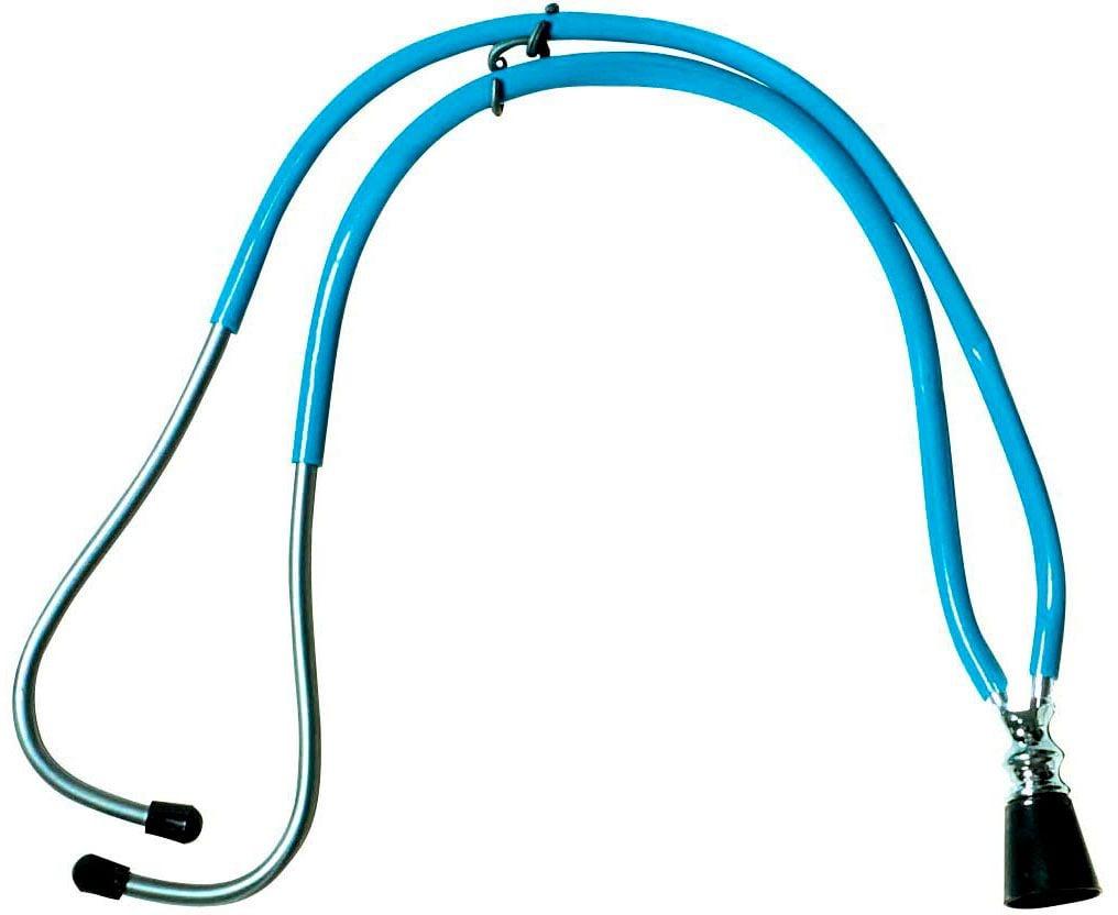 Blauwe dokters stethoscoop