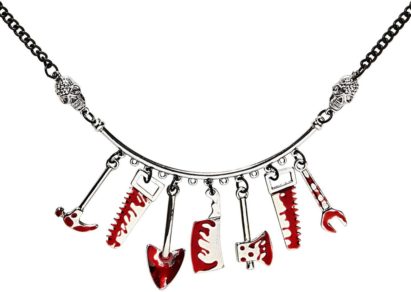 Bloed ketting gereedschap halloween