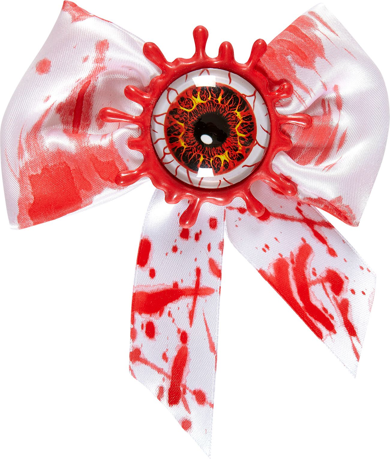 Bloedend oog vlinderstrik