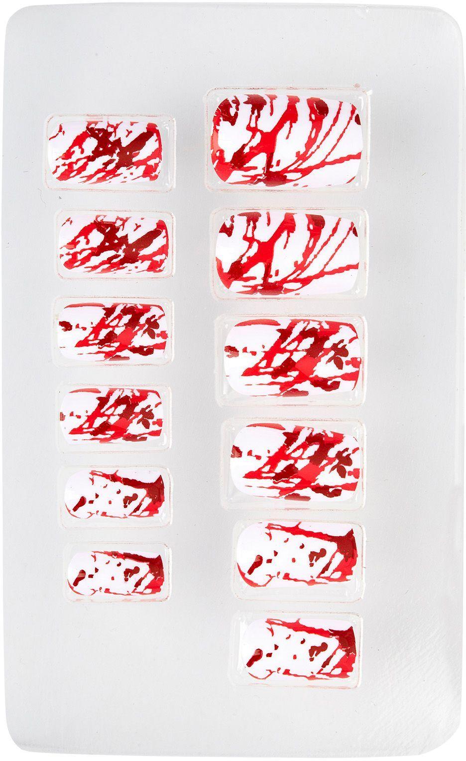 Bloederige nagels