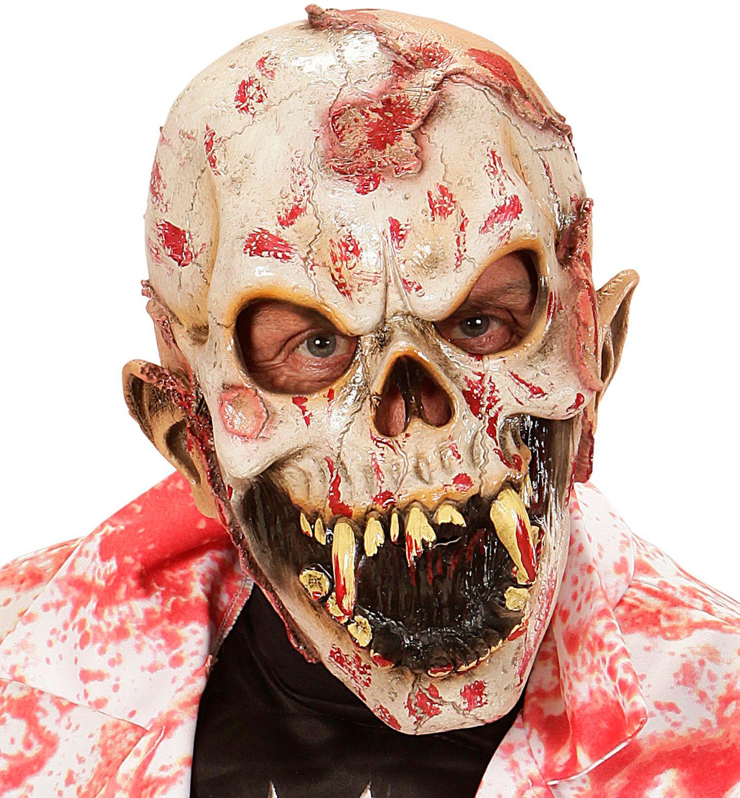 Bloederige zombie masker