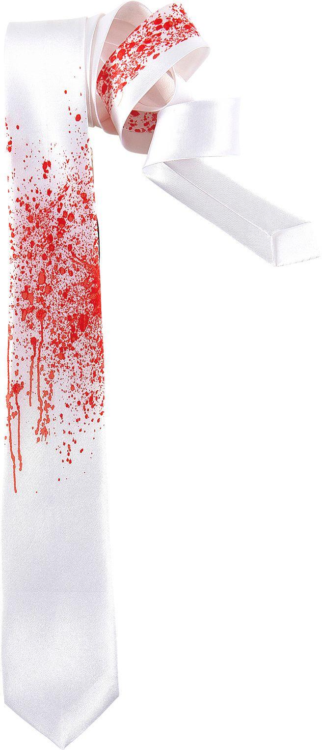 Bloedige zombie stropdas