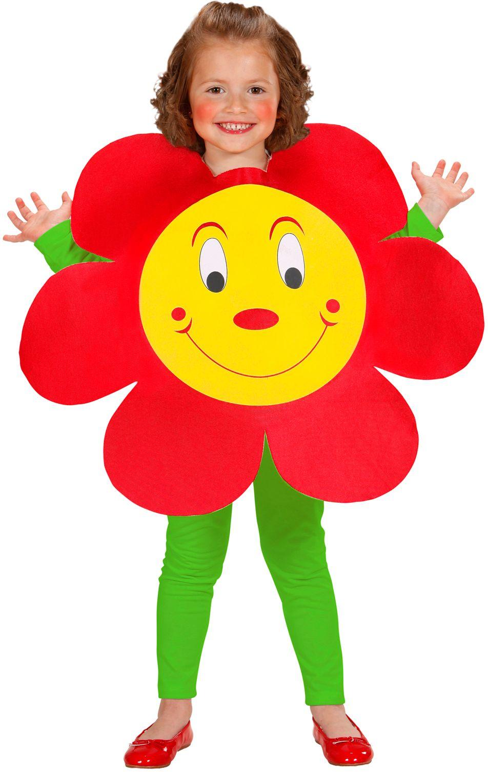 Bloemen kostuum kind
