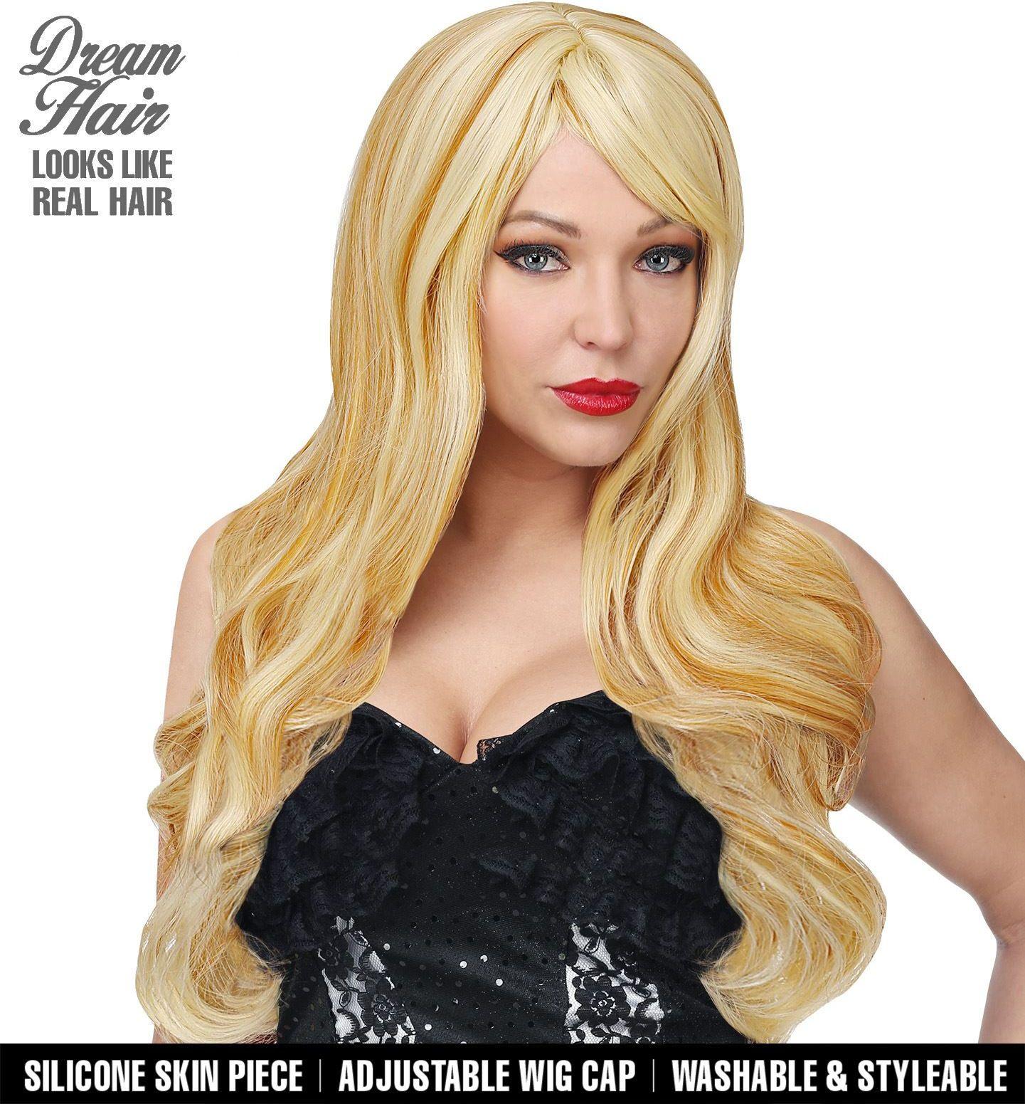 Blonde pruik vrouwen